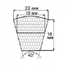 Ремни профиль SPC (УВ)