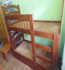Кровать 2-х ярусная с ящиками без матраца