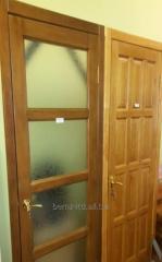 Дверь деревянная межкомнатная под стекло
