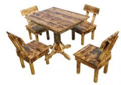 Комплект Дача стол + 4 стулья