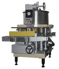 The automatic machine dosing and filling the DN-3