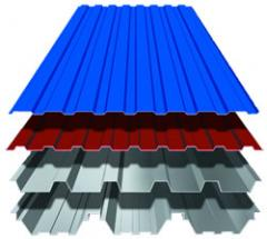 Professional flooring, Profiles roofing