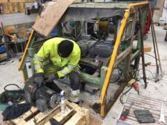 Ремонт и реконструкция экструдера пустотных плит перекрытий
