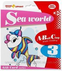 25074 Set ball to Sea World plasticine