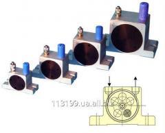 OT pneumatic vibrators of turbine type