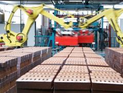 The automatic transfer line brick cages for