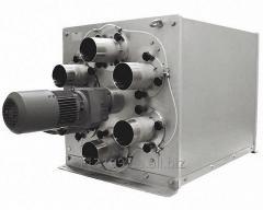 The pneumoequipment control-regulating