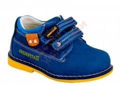 Туфли для мальчика на липучках Шалунишка