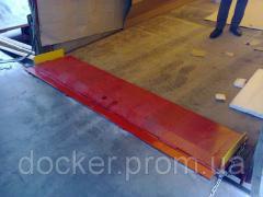 Ramp folding Docker mechanical 2000kh500mm
