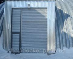 Ворота рулонные Hardwick промышленные с...