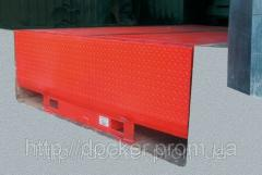 Платформа уравнительная Docker 2000х4000 6т с поворотной аппарелью