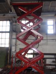 Подъемник гидравлический Docker 1500х1300мм,...