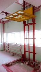 Elevator console Docker of hydraulic 1000х1000 mm,