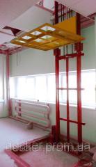 Elevator console Docker of hydraulic 1400х1000 mm,