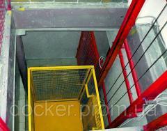 Elevator console Docker of electric 1000х1000 mm,