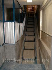 Elevator inclined Docker of electric 1200х800 mm,