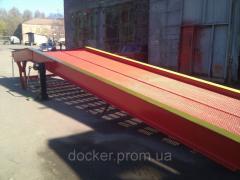 Рампа мобильная Docker 10т 12м механическая