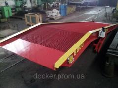 Рампа мобильная Docker 10т 9м гидравлическая