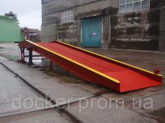 Рампа мобильная Docker 10т 9м механическая