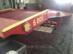 Rampy mobilne Docker 6m 9m hydrauliczne