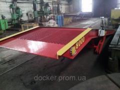 Рампа мобильная Docker 8т 9м гидравлическая