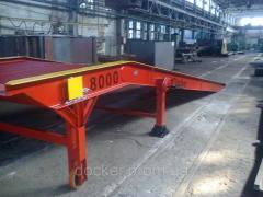 Рампа мобильная Docker 8т 9м механическая