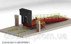 Viaduto 1.8h2m sobrecarga 12m 6m plataforma de