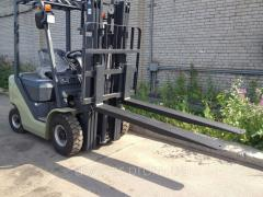 The extender twisted 4 t of Docker of 2500 mm for