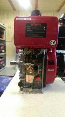 Двигатель WEIMA WM188FBS,  вал ШПОНКА,  1800...