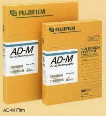 Mammography x-ray film of AD-M, FUJIFILM, 24 x 30
