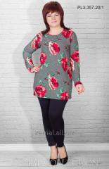 Tunics with embroidery
