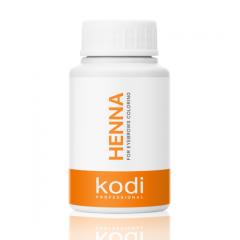 Henna for coloring of eyebrows of Kodi
