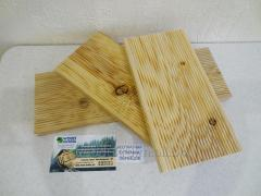 Terrace board from the Siberian Larch AB 27x142