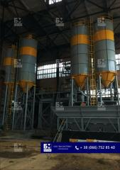 Silos for storage of cement