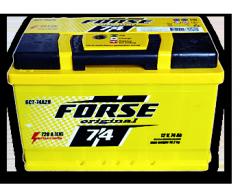 Аккумулятор Forse Original (форсе) 6СТ-74 R+
