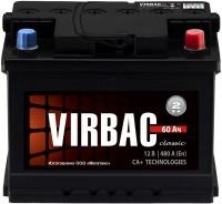 Аккумулятор Virbac Classic 6CT-60R+ низкий корпус