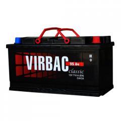 Аккумулятор Virbac Classic 6CT-95R+