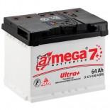 Аккумулятор Amega Ultra Plus Левый 6CT-64L+