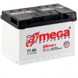 Аккумулятор Amega Ultra Plus Правый 6CT-77R+