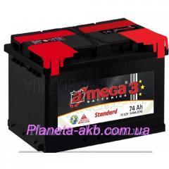 AMEGA Standart 6ST-74 accumulator of Az