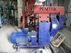 Press granulator OGM.15. The equipment for pellet