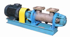 Pump units food shnekovy NRP of Shn for dense and
