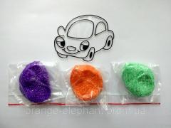 Machine set (ball plasticine + stained-glass