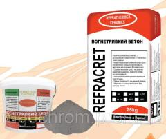 Огнеупорный среднецементный бетон REFRACRETE-MCC-1400