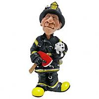 Статуэтка Пожарник 15см