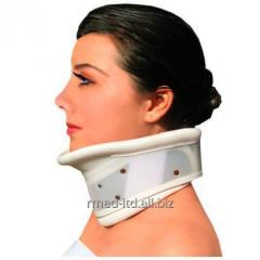 The orthopedic cervical orthosis with fixing of a