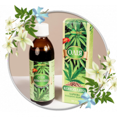 Hemp Oil, cold pressed edible