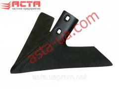 KPE cultivator paw (Width of 410 mm, thickness is