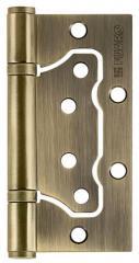 Петля универсальная без врезки 500-2BB 100x2,5 AB (бронза), 1 шт