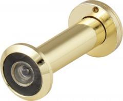 Глазок дверной DVZ2, 16/200/60x100 (оптика пластик, угол обзора 200) GP Золото